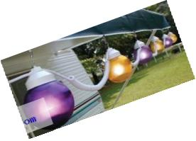 Polymer Products (166001523) Purple/Yellow String Light, (Set of 6)