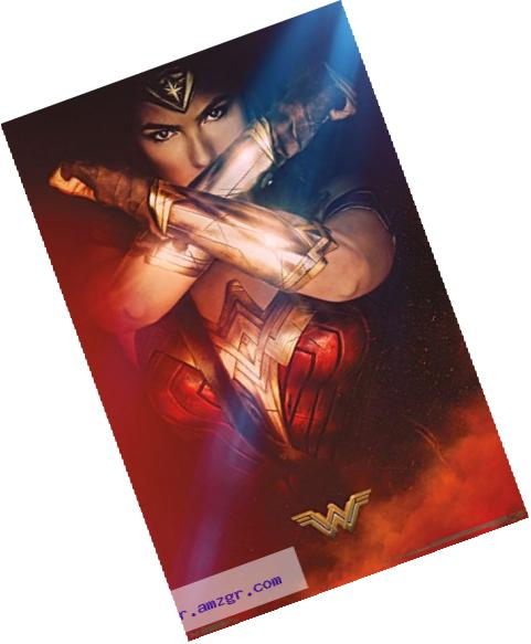 Trends International Wonder Woman Bracelets Wall Poster, 22.375