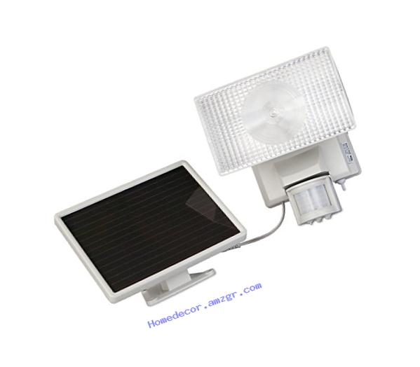 MAXSA Innovations 40224 Solar-Powered Motion-Activated 50 LED Security Floodlight