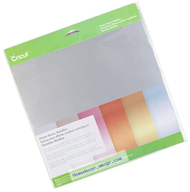 Cricut 2002741 Metallic Poster Board