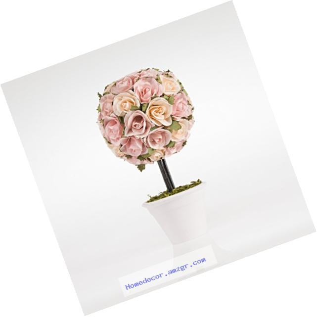 Sweet Potato Rosebud Topiary Gift Set, Pink