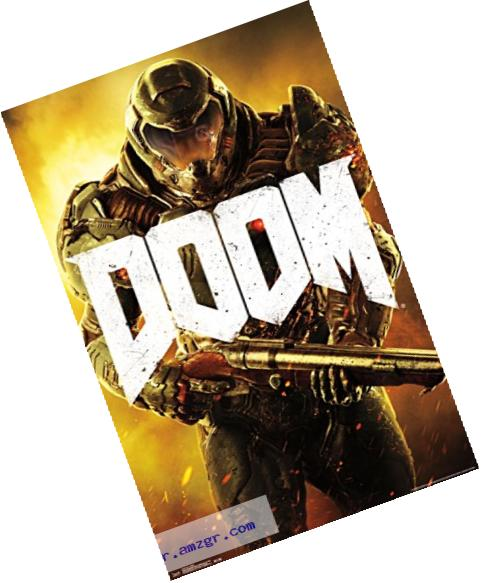 Trends International Doom Marine Wall Poster 22.375