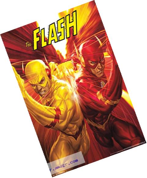 Trends International The Flash Race Wall Poster 22.375