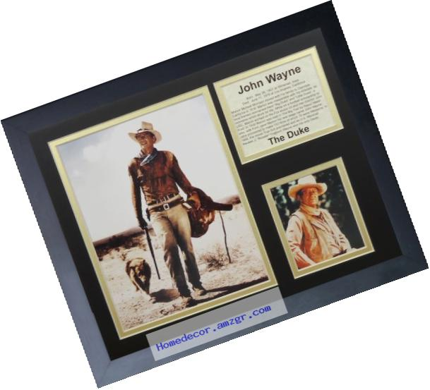 Legends Never Die John Wayne Framed Photo Collage, 11x14-Inch