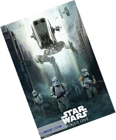 Trends International Siege Star Wars Rogue One Siege Wall Poster 22.375