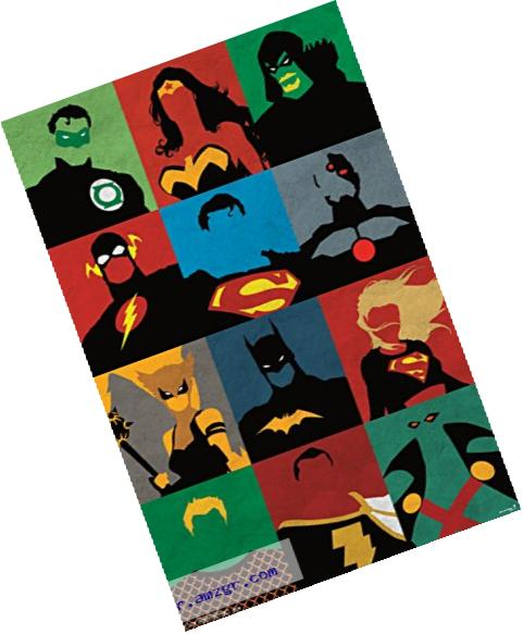 Trends International Justice League Minimalist Wall Poster 22.375