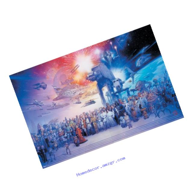 Trends International Star Wars Galaxy Wall Poster 22.375
