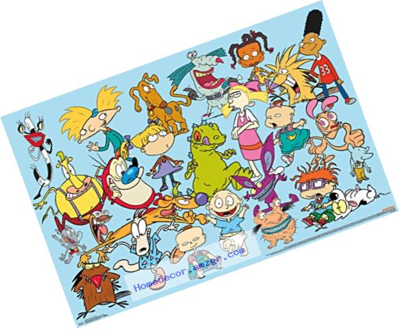 Trends International Nick Toons Characters Wall Poster 22.375