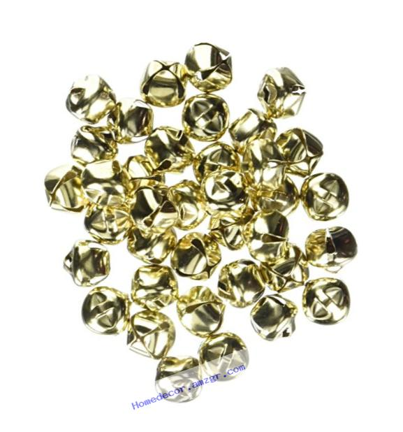 RetailSource 1099-16x6 Holiday Jingle Bells - Gold - 1/2